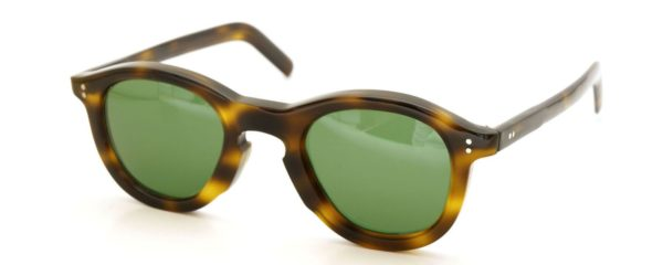 Lesca レスカ Vintage fv-0911 6mm Dark-havana Green-lense