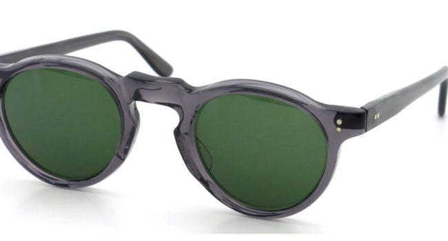 Lesca レスカ Vintage Panto type-A Grey 6mm (v1) Green-lense