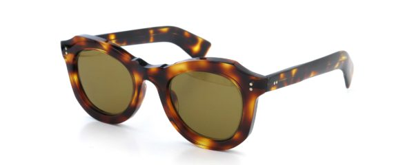 Lesca レスカ Vintage BUTTERFLY Dark-Havana (v2) Brown-lense