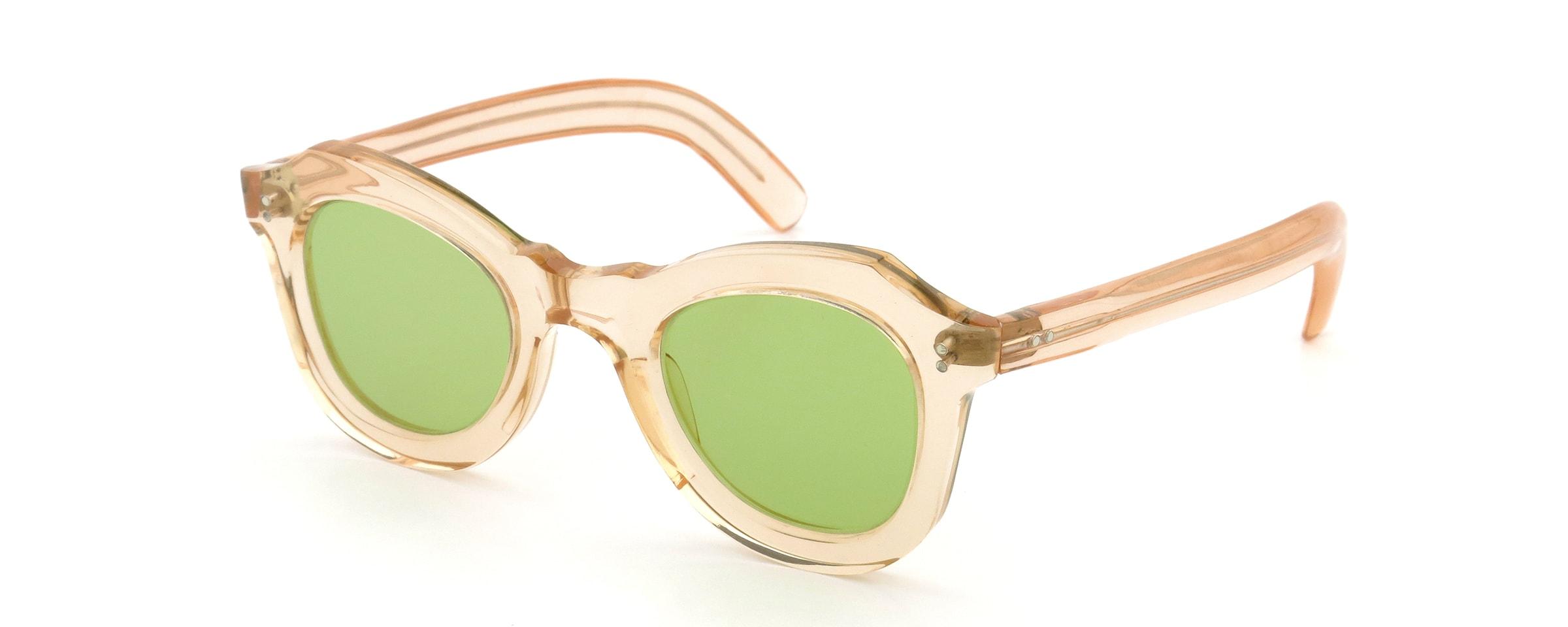 Lesca Vintage BUTTERFLY Pink (v1) Green-lens