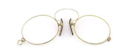 Lesca Speciality collection Pince Nez [v1] Oval Gold