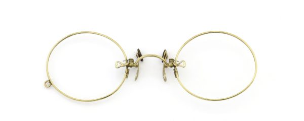 Lesca レスカ Speciality collection Pince Nez [v3] Oval Gold
