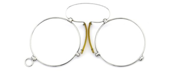 Lesca レスカ Speciality collection Pince Nez [v4] Round Silver