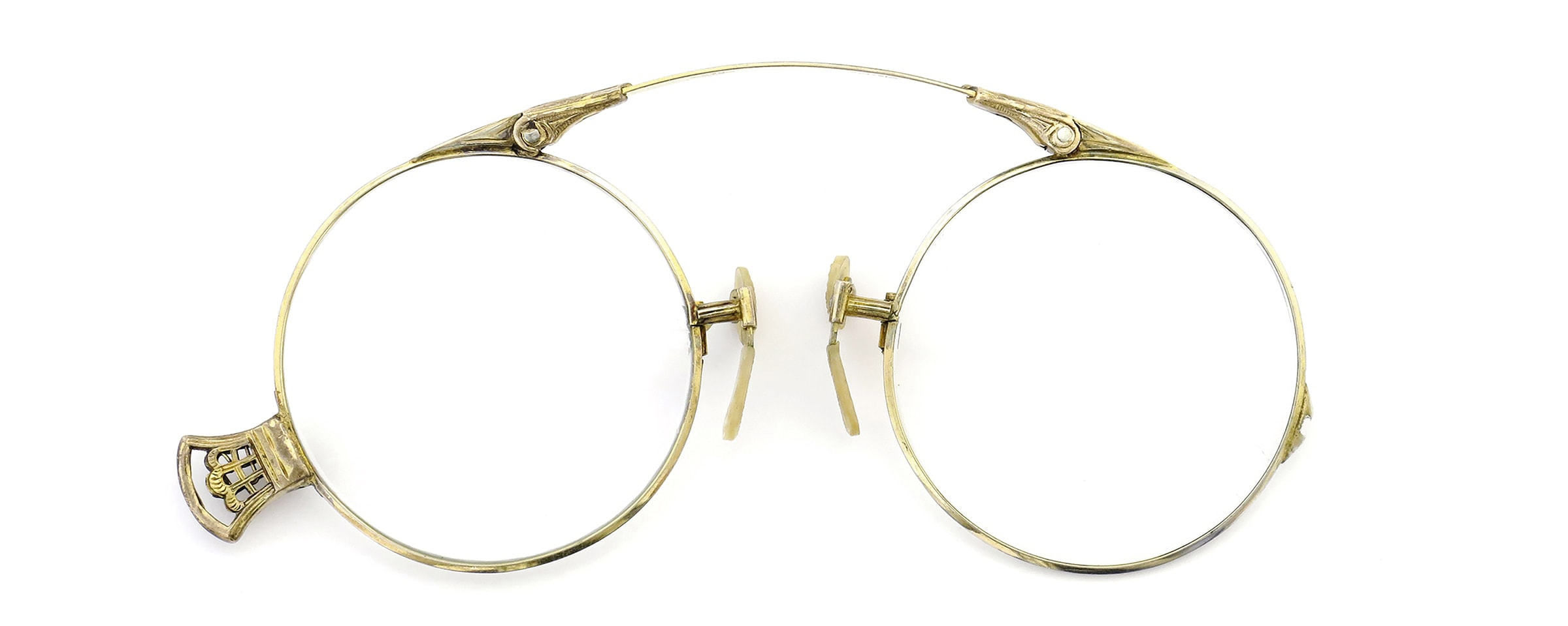 Lesca Speciality collection Pince Nez [v2] Folding Round