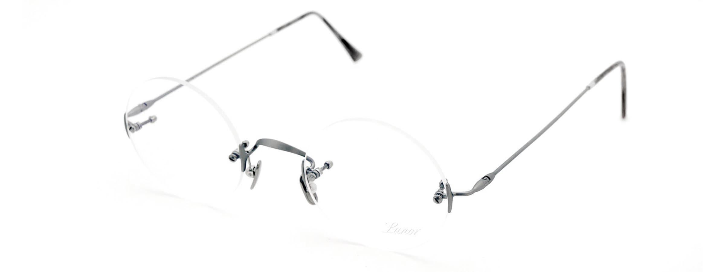 LUNOR ルノア Classic Round AS スティーブ・ジョブズ愛用の丸メガネ