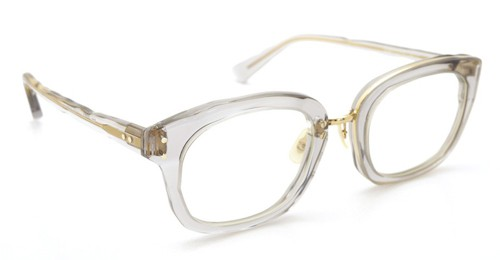 MASAHIROMARUYAMA MM-0007 col.06 CLEAR GRAY/GOLD