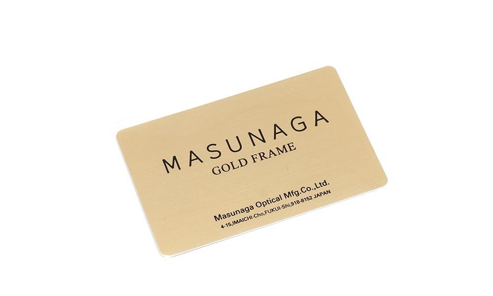 MASUNAGA [GMS-196B GF 18K]