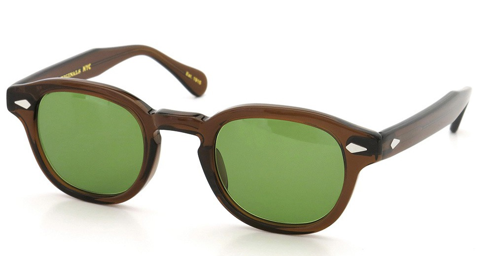 MOSCOT LEMTOSH SUN BROWN/Green
