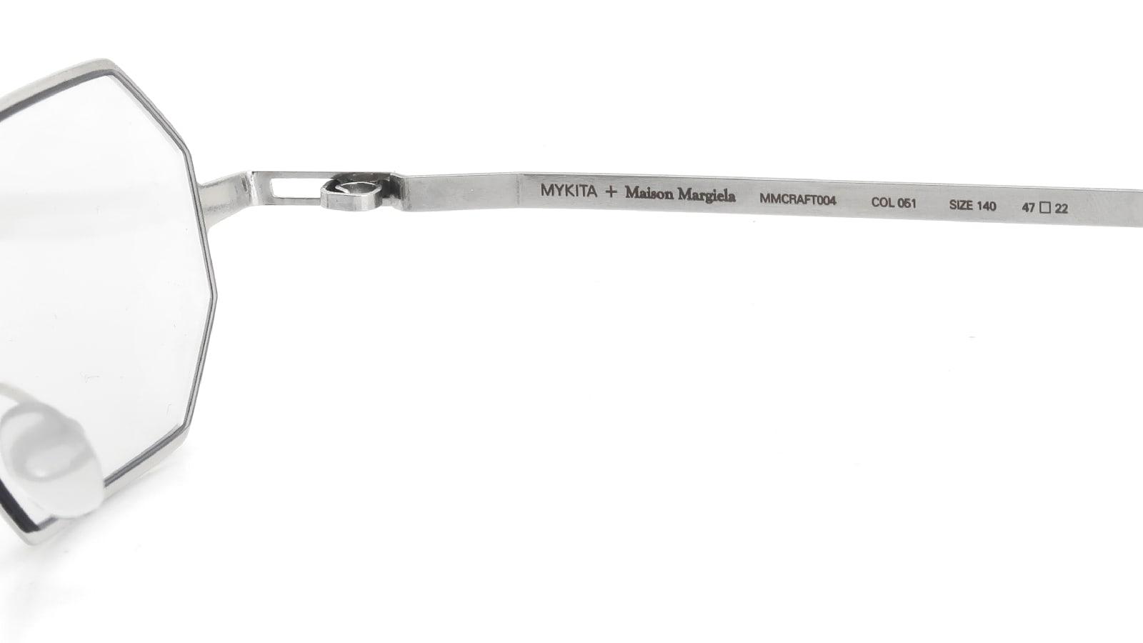 MYKITA + Maison Margiela MMCRAFT004 COL.051 Shiny Silver 10
