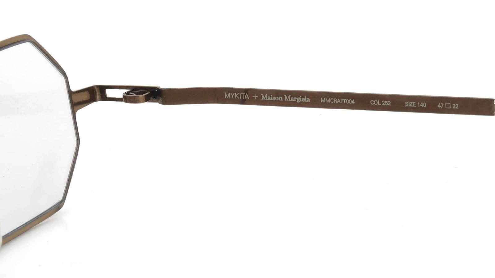 MYKITA + Maison Margiela MMCRAFT004 COL.252 Shiny Copper 10