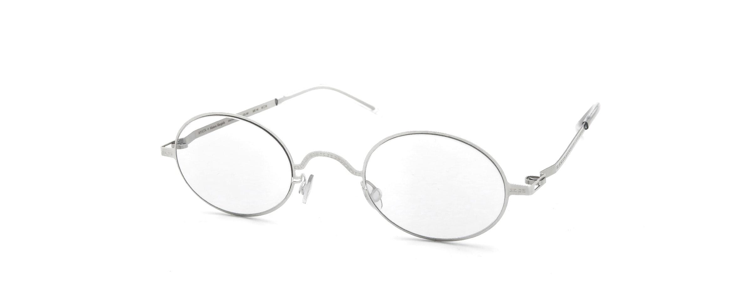 MYKITA + Maison Margiela MMCRAFT005 COL.051 Shiny Silver全体像