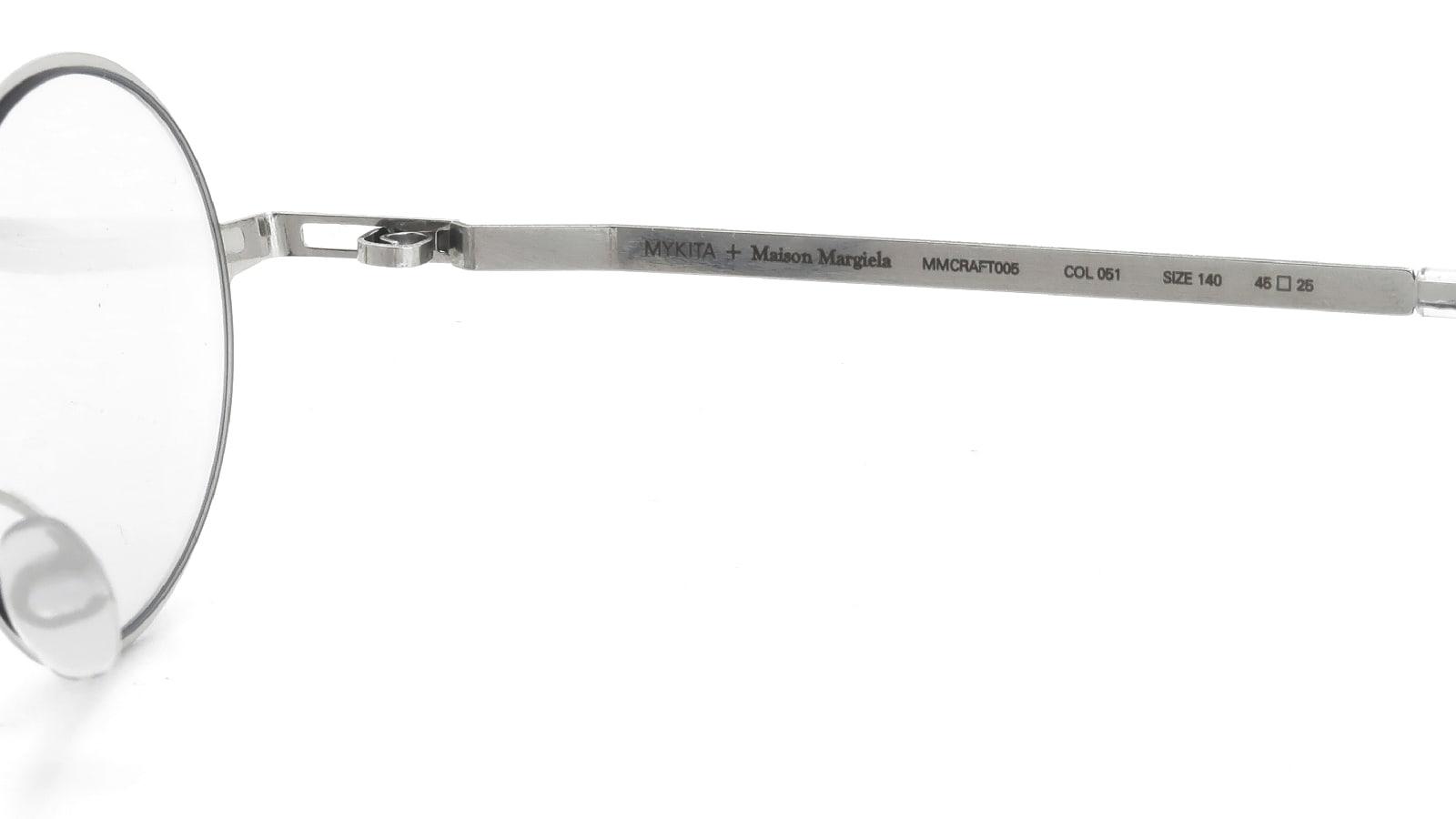 MYKITA + Maison Margiela MMCRAFT005 COL.051 Shiny Silver 10
