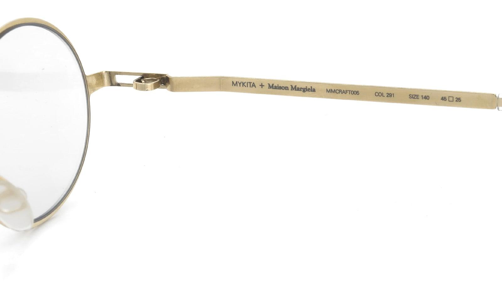 MYKITA + Maison Margiela MMCRAFT005 COL.291 Champagne Gold 10