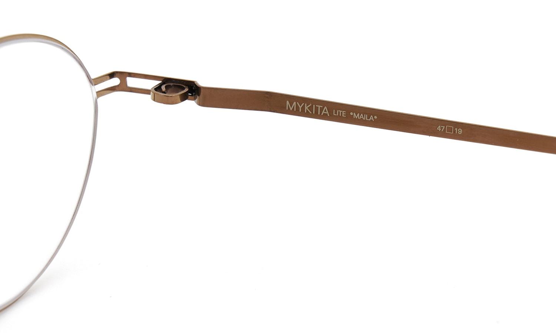 MYKITA [LITE] MAILA COL.171 Shiny Copper 10