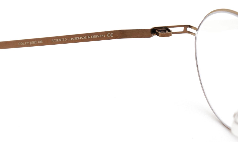 MYKITA [LITE] MAILA COL.171 Shiny Copper 9
