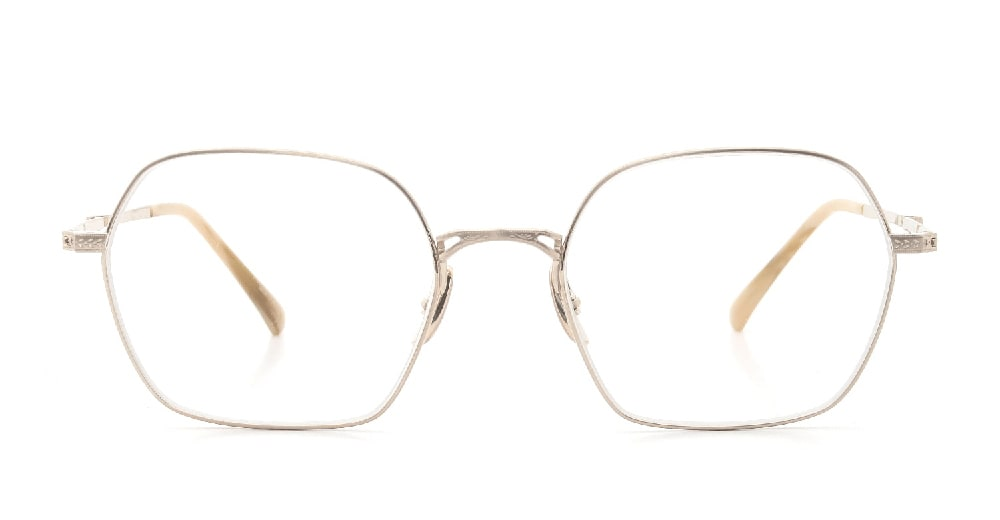 Mr.Leight SHI C 50 12K-Matte-White-Gold / Moonstone