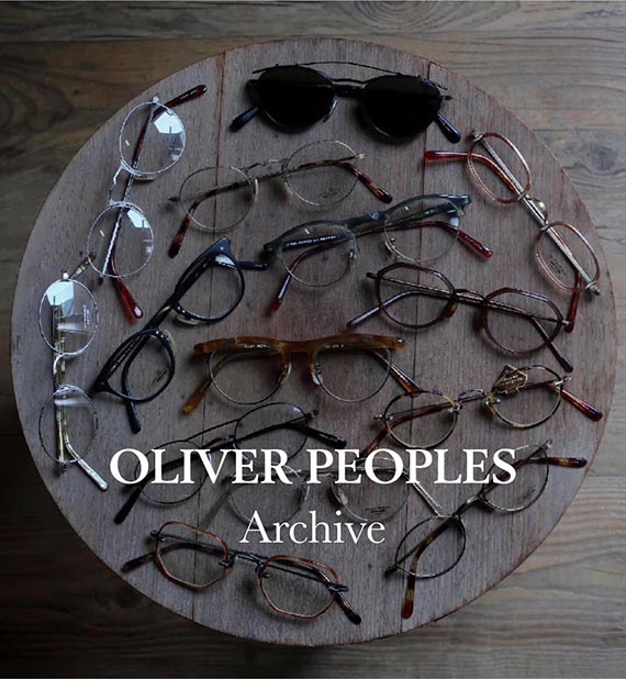 OLIVER PEOPLES ARCHIVE