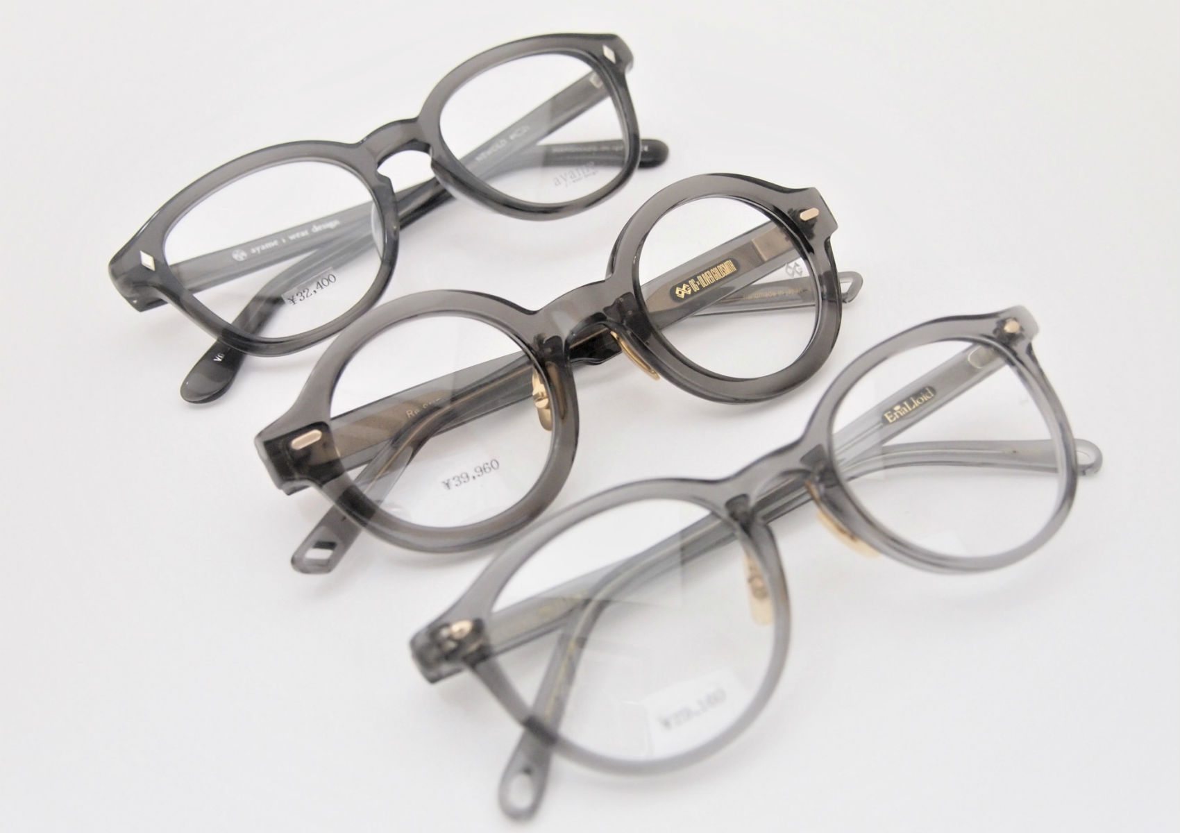 clear GRAY FRAME