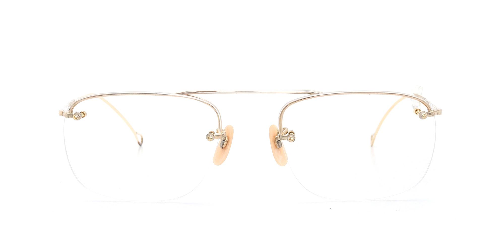 The Spectacle メガネ 1938-1950s SHURON Mid-Century-Modern-Bar SHURSET RIMWAY FUL-VUE 1/10 12KGF イメージ3