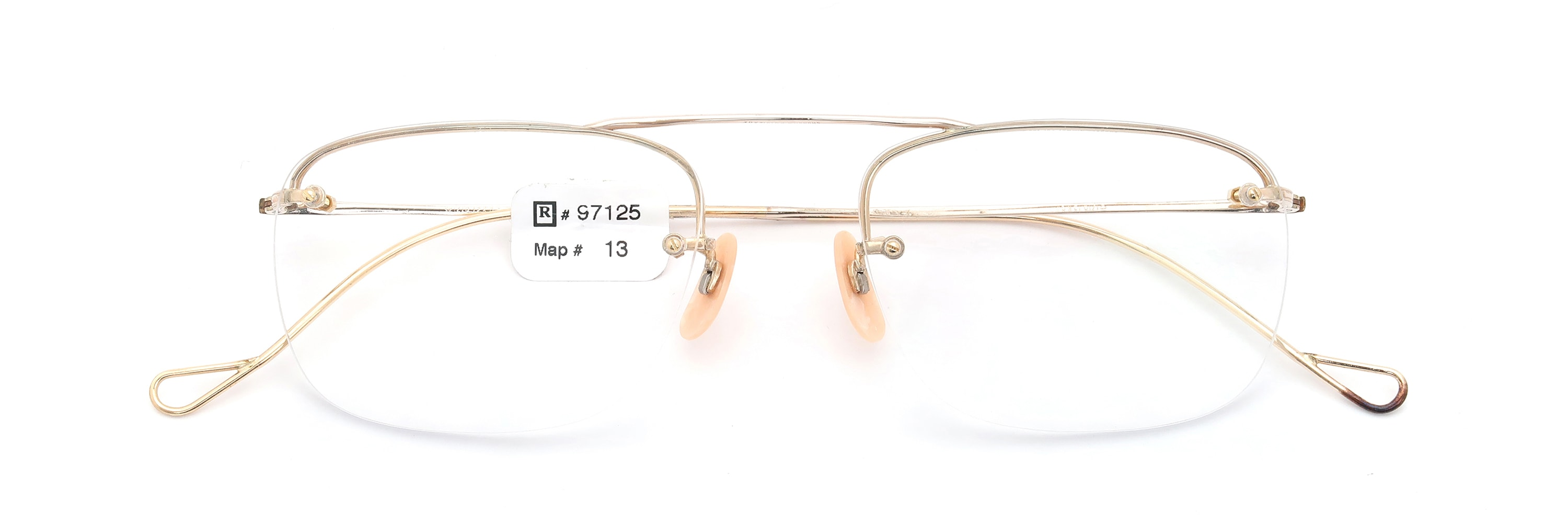 The Spectacle メガネ 1938-1950s SHURON Mid-Century-Modern-Bar SHURSET RIMWAY FUL-VUE 1/10 12KGF
