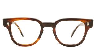 TART OPTICAL vintage BRYAN ダイヤ鋲 AMBER 44-22
