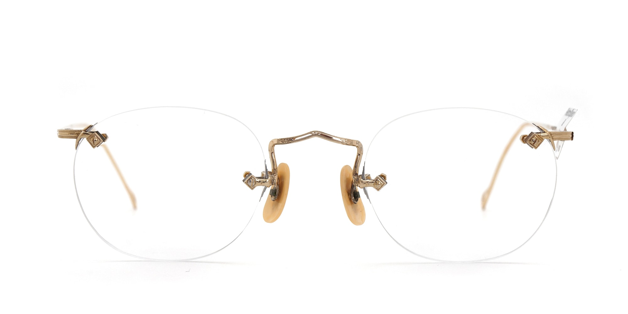 The Spectacle メガネ 1930s American Optical 3-Piece Ful-Vue G 43-22 イメージ3