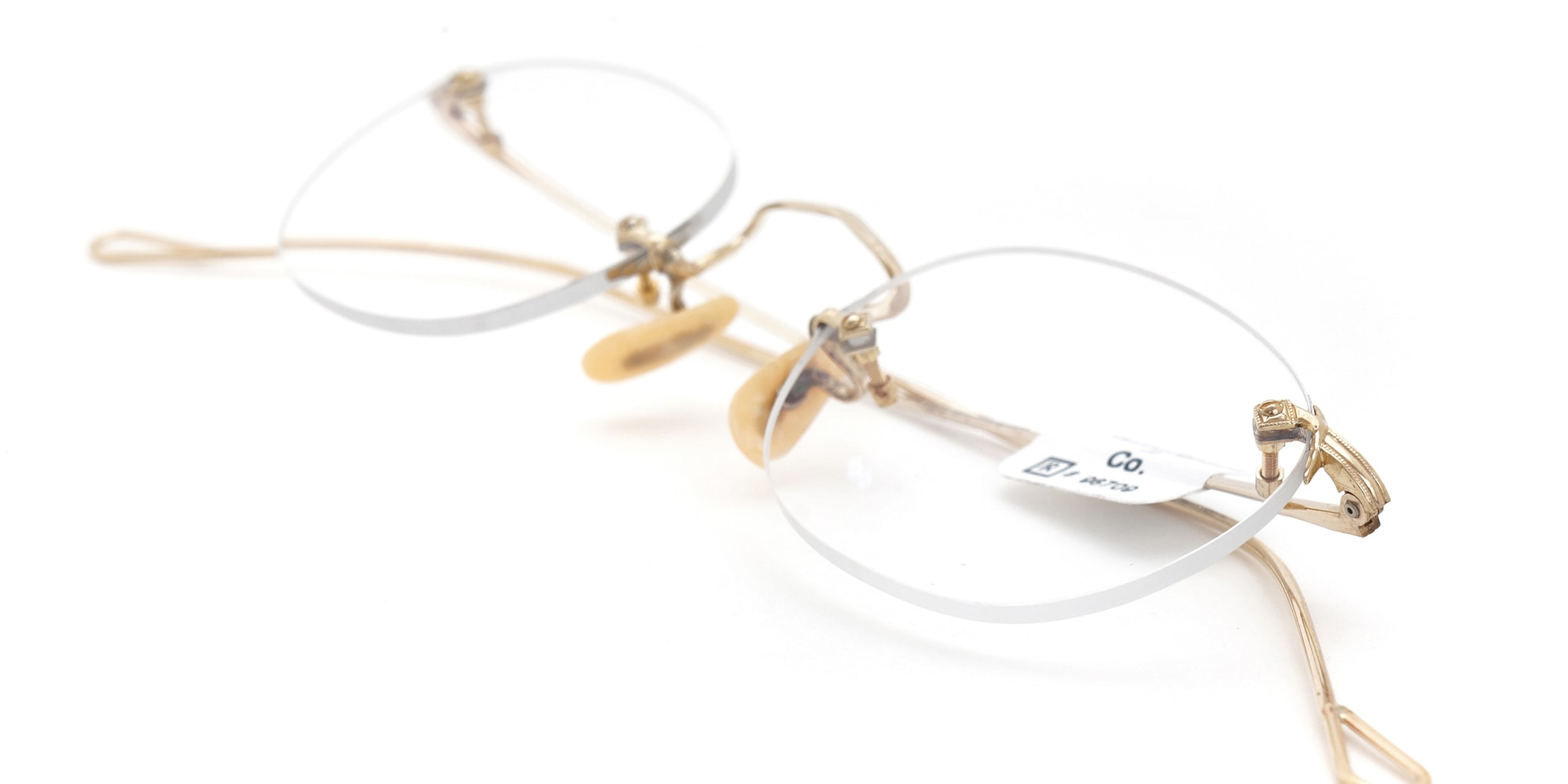 The Spectacle メガネ 1930s American Optical 3-Piece Ful-Vue G 43-22 イメージ8