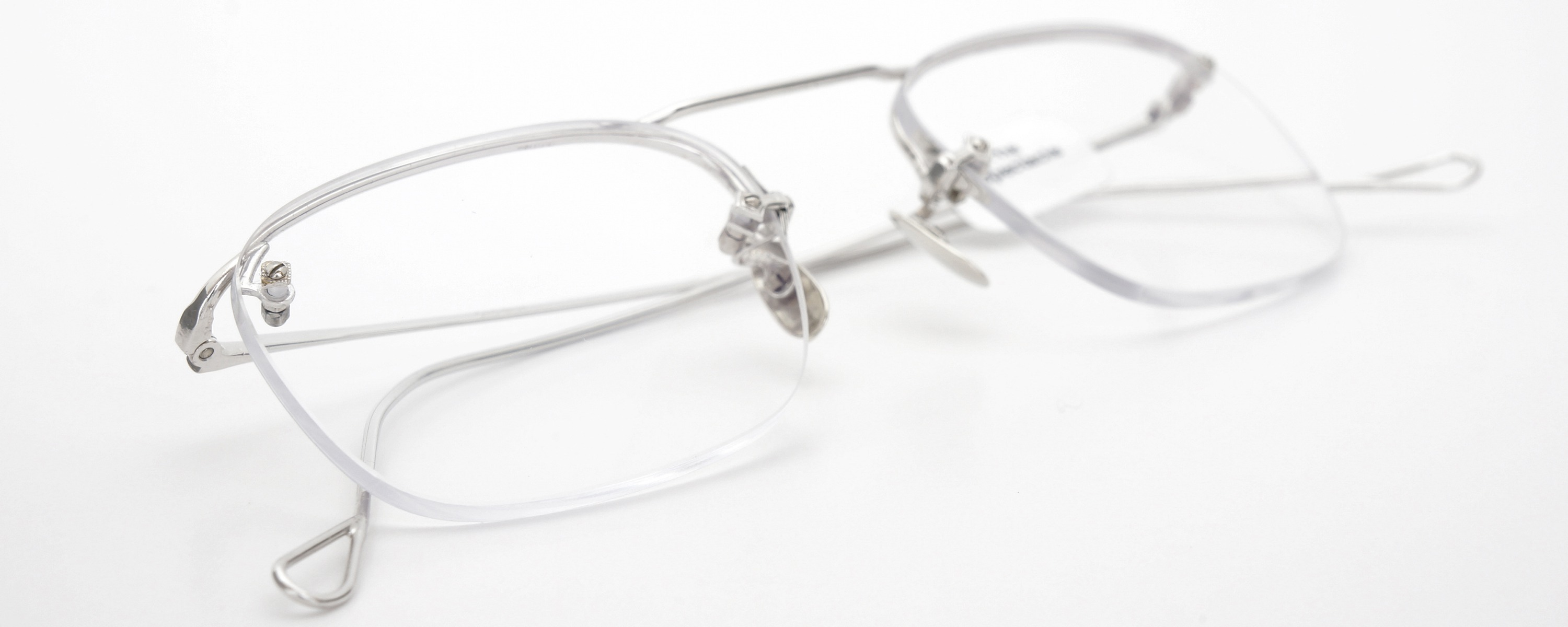 The Spectacle メガネ 1940 American Optical Everjax Bar Sterling WG 12kPads 49-21 イメージ14