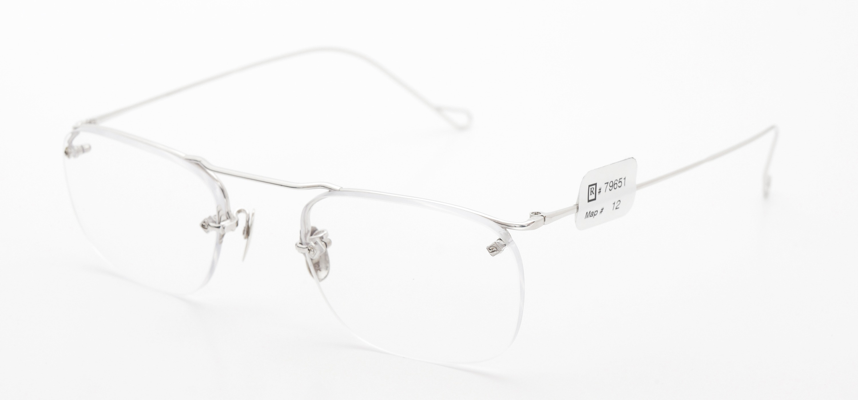 The Spectacle メガネ 1940 American Optical Everjax Bar Sterling WG 12kPads 49-21 イメージ3
