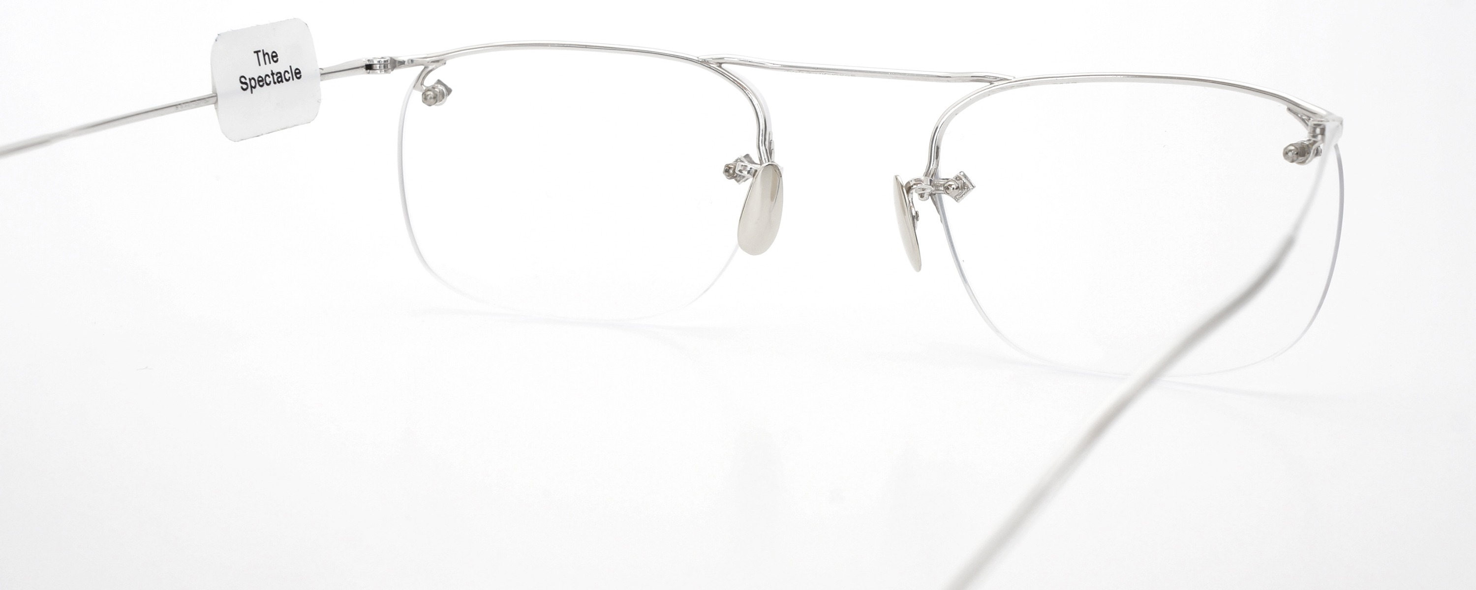 The Spectacle メガネ 1940 American Optical Everjax Bar Sterling WG 12kPads 49-21 イメージ8