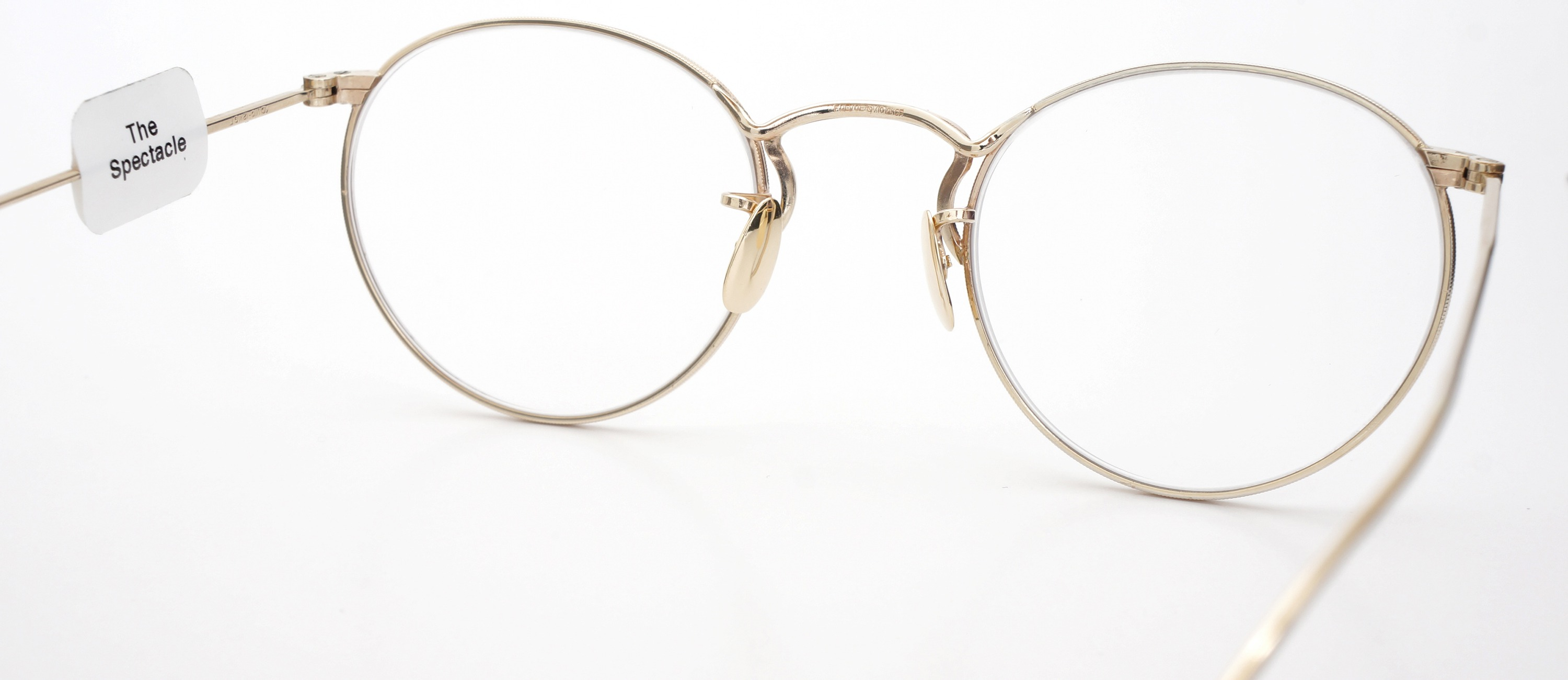 The Spectacle メガネ 1930s-40s  American Optical Full-Frame Ful-Vue P-5 YG 46-22 イメージ8