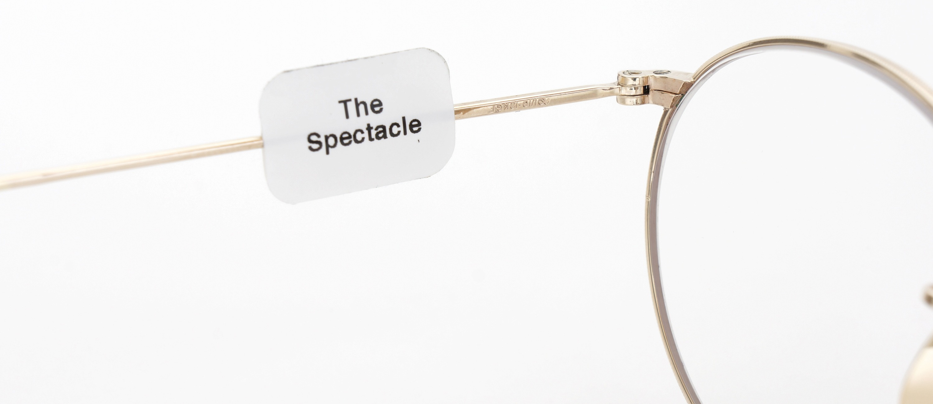 The Spectacle メガネ 1930s-40s  American Optical Full-Frame Ful-Vue P-5 YG 46-22 イメージ10