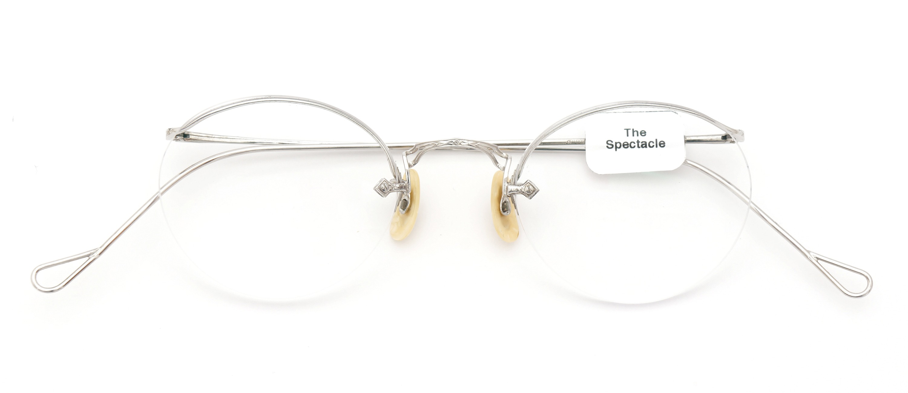 The Spectacle メガネ 1938 American Optical Numont Ful-Vue P-6 WG 45-23 イメージ2