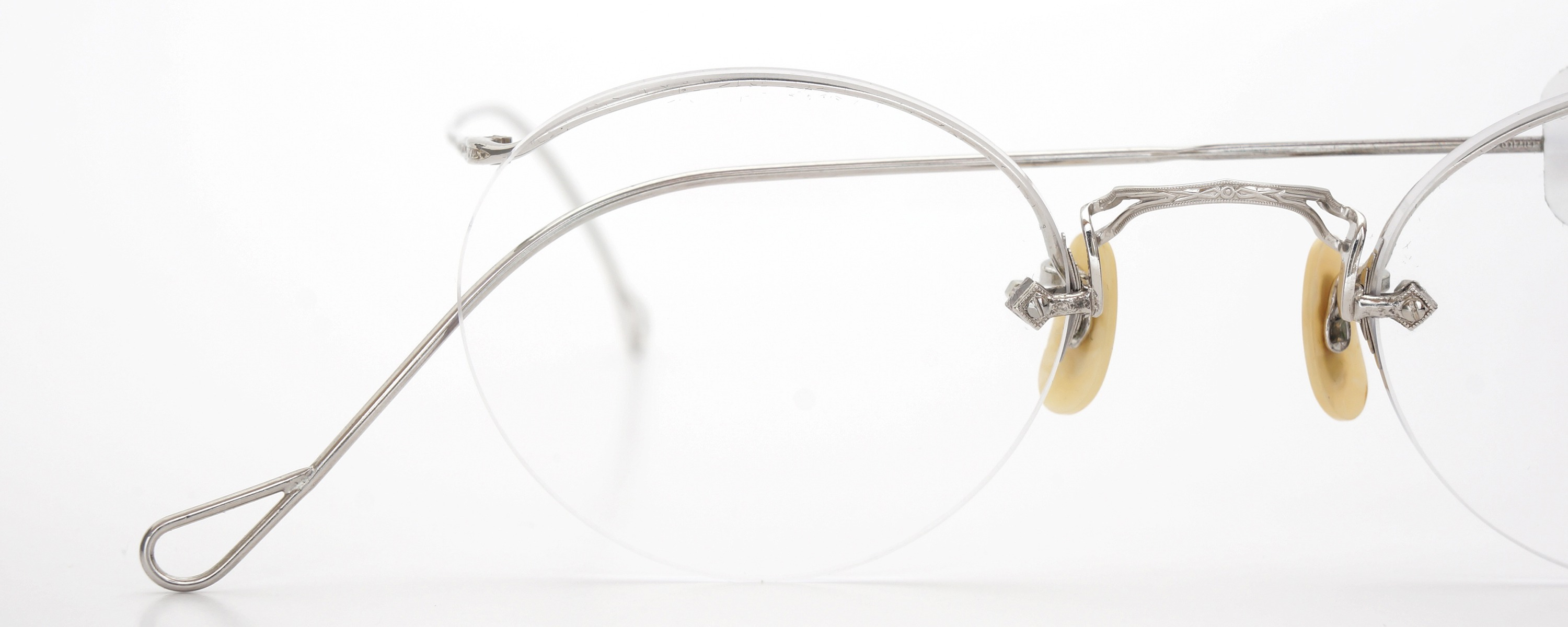 The Spectacle メガネ 1938 American Optical Numont Ful-Vue P-6 WG 45-23 イメージ17