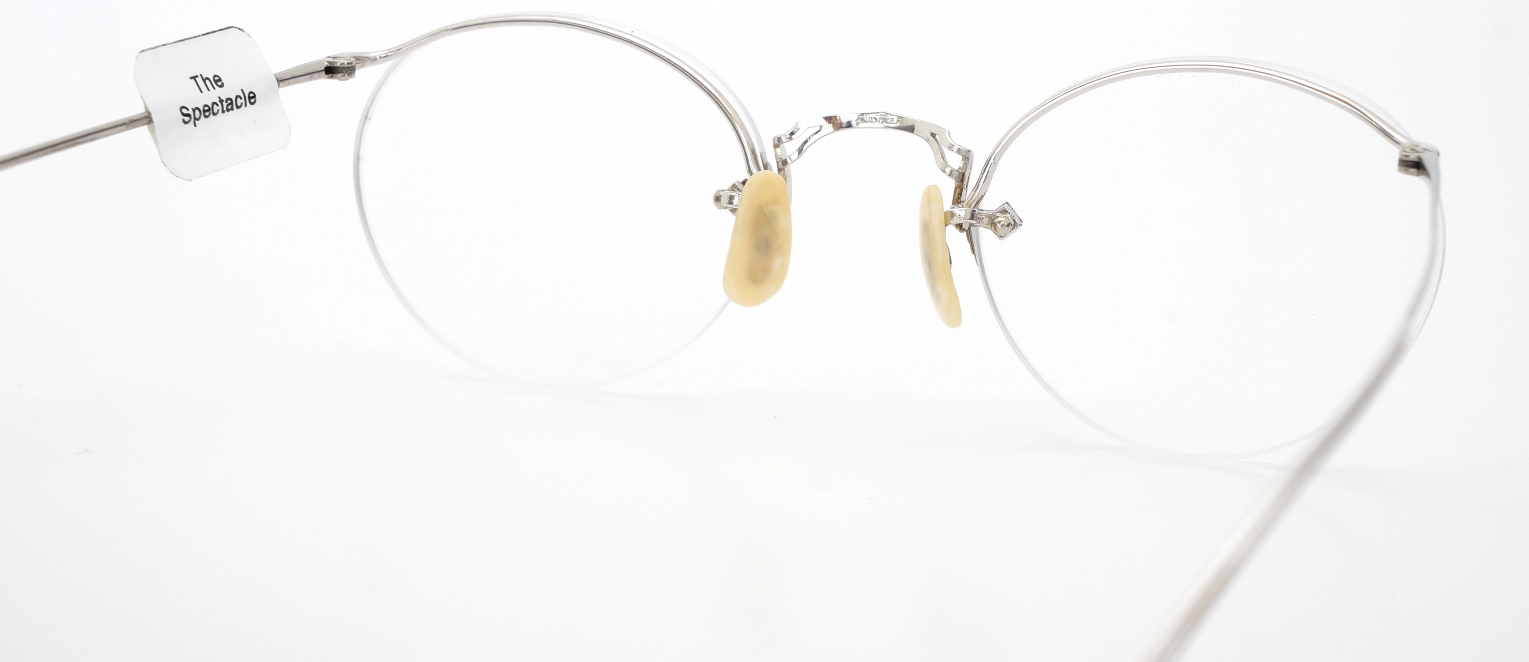 The Spectacle メガネ 1938 American Optical Numont Ful-Vue P-6 WG 45-23 イメージ7