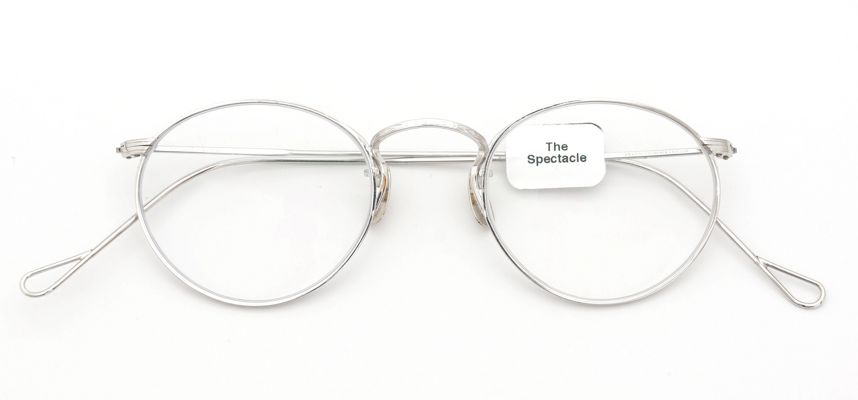 The Spectacle メガネ 1937 Artcraft Optical The-Artbit NOKOROD P-6 WG 12kPads 45-21 イメージ2