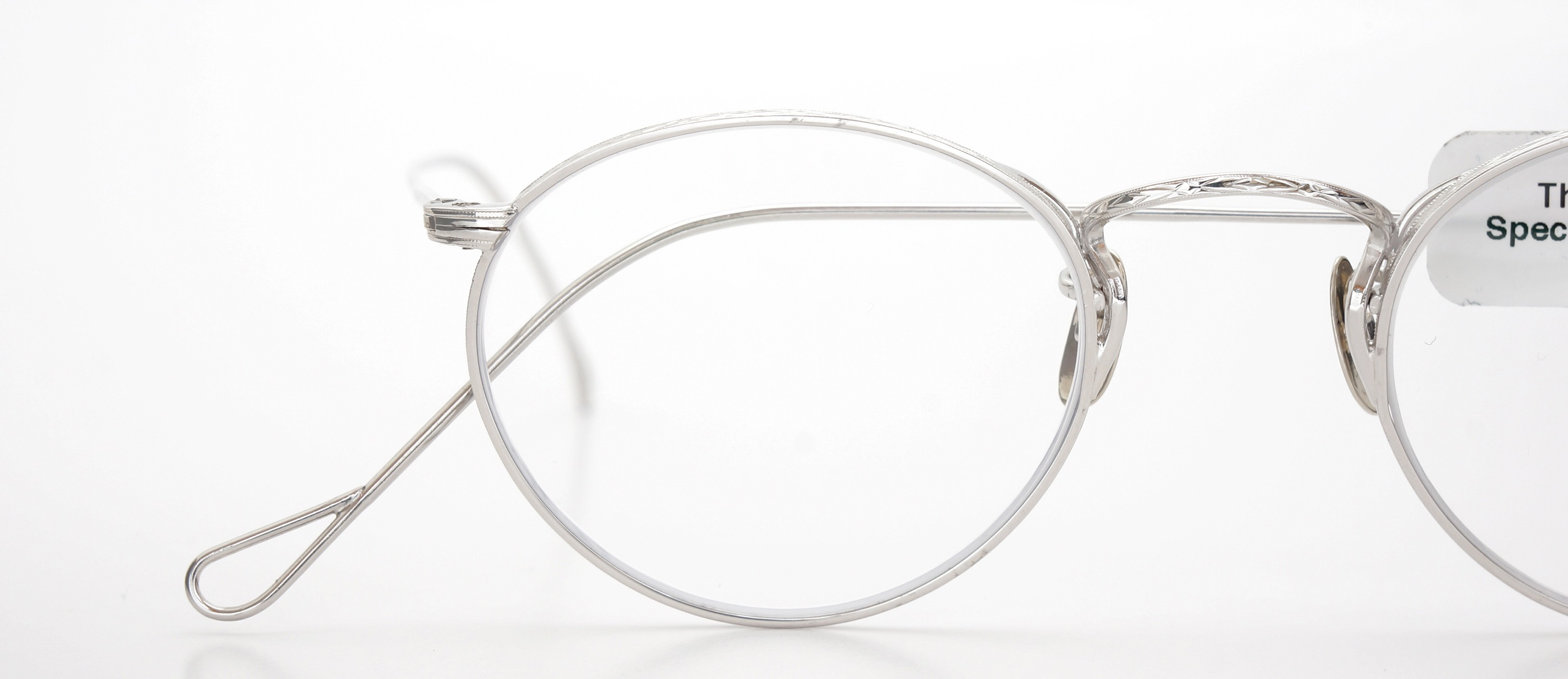 The Spectacle メガネ 1937 Artcraft Optical The-Artbit NOKOROD P-6 WG 12kPads 45-21 イメージ17