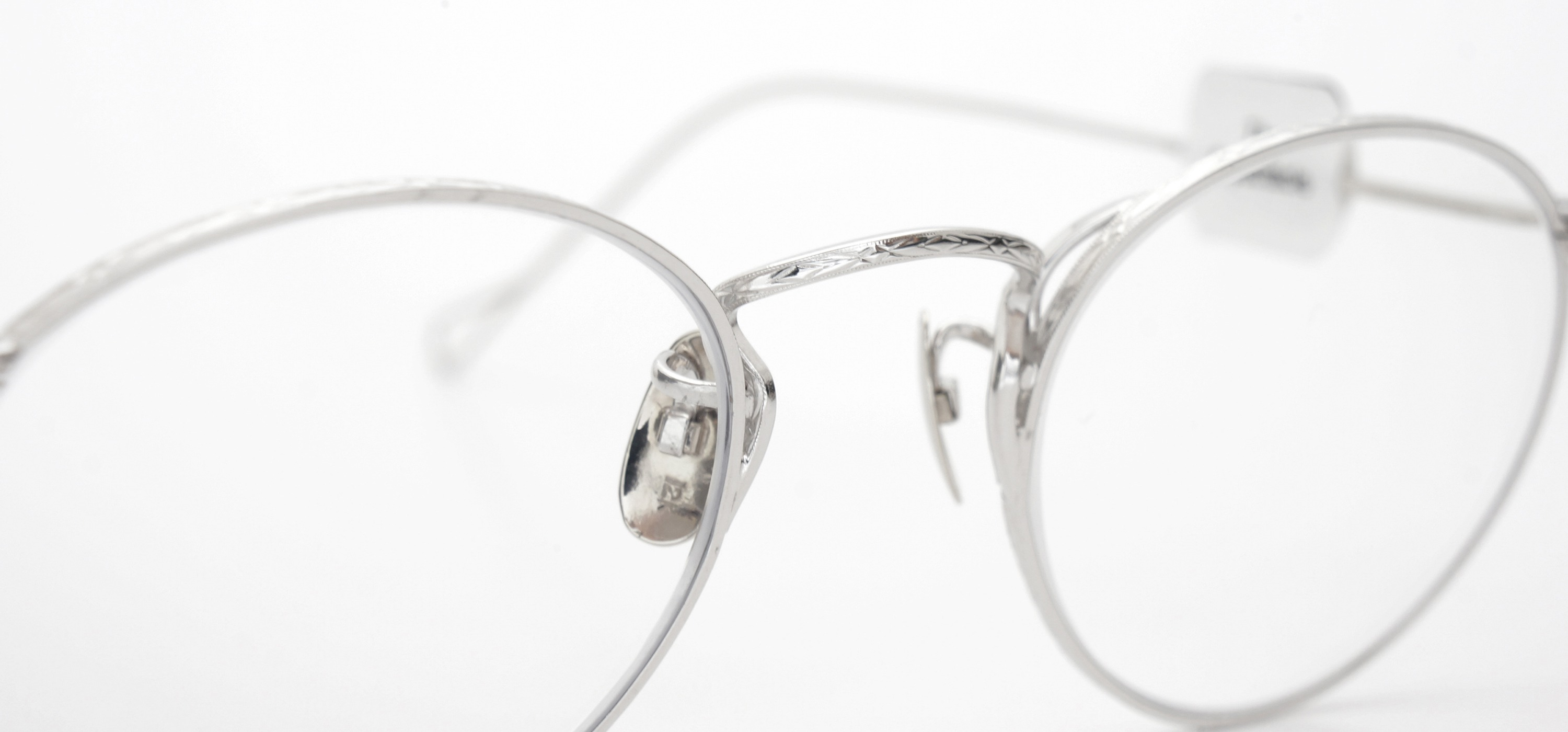 The Spectacle メガネ 1937 Artcraft Optical The-Artbit NOKOROD P-6 WG 12kPads 45-21 イメージ8
