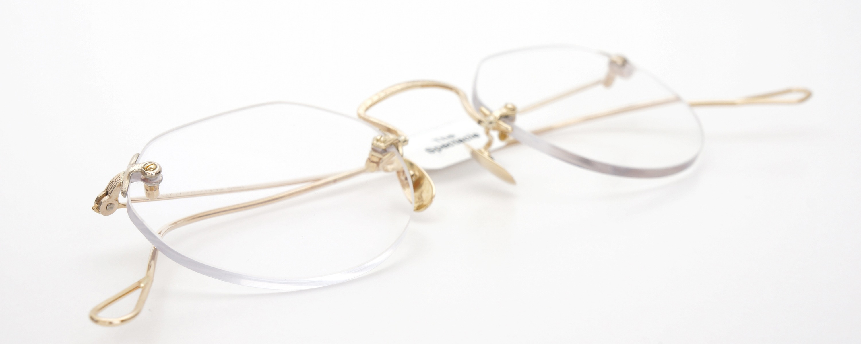 The Spectacle メガネ 1930s Bausch&Lomb 3-Piece Ful-Vue Whitfield YG 45-23 イメージ14