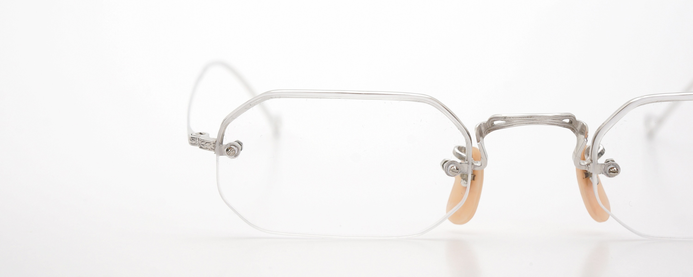 The Spectacle メガネ 1942 Bausch&Lomb Rimway Ful-Vue Hoff-Hoff WG 43-21 イメージ16