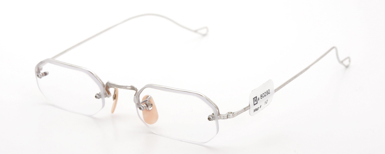 The Spectacle メガネ 1942 Bausch&Lomb Rimway Ful-Vue Hoff-Hoff WG 43-21 イメージ3
