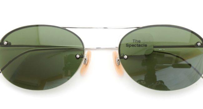 The Spectacle メガネ 1938-1950s SHURON Mid-Century-Modern-Bar 1/10 12KGF 44/20