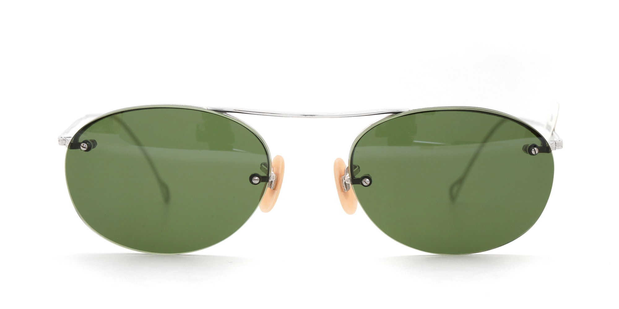 The Spectacle サングラス 1938-1950s SHURON Mid-Century-Modern-Bar 1/10 12KGF 44/20 イメージ3