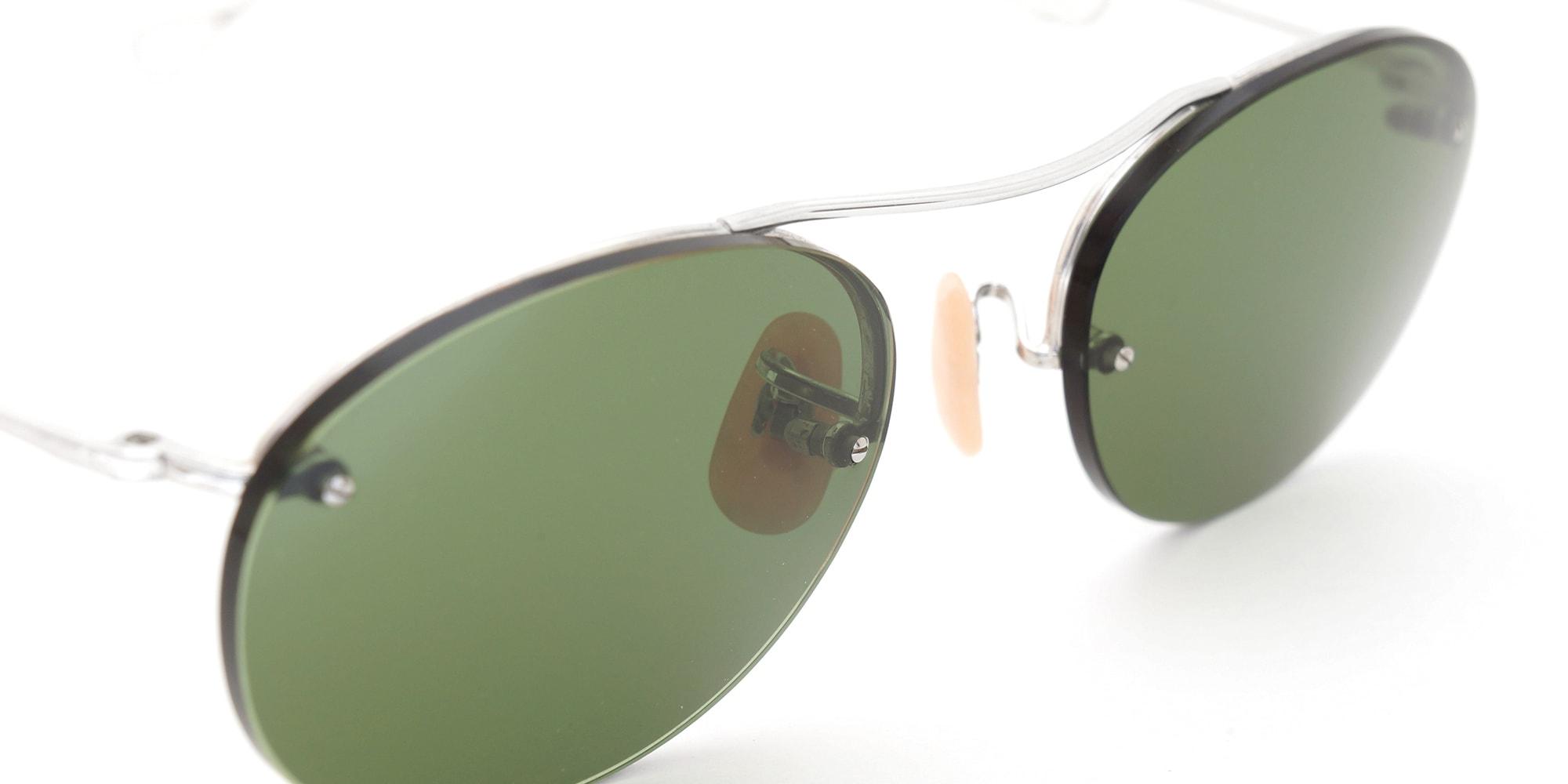 The Spectacle サングラス 1938-1950s SHURON Mid-Century-Modern-Bar 1/10 12KGF 44/20 イメージ7