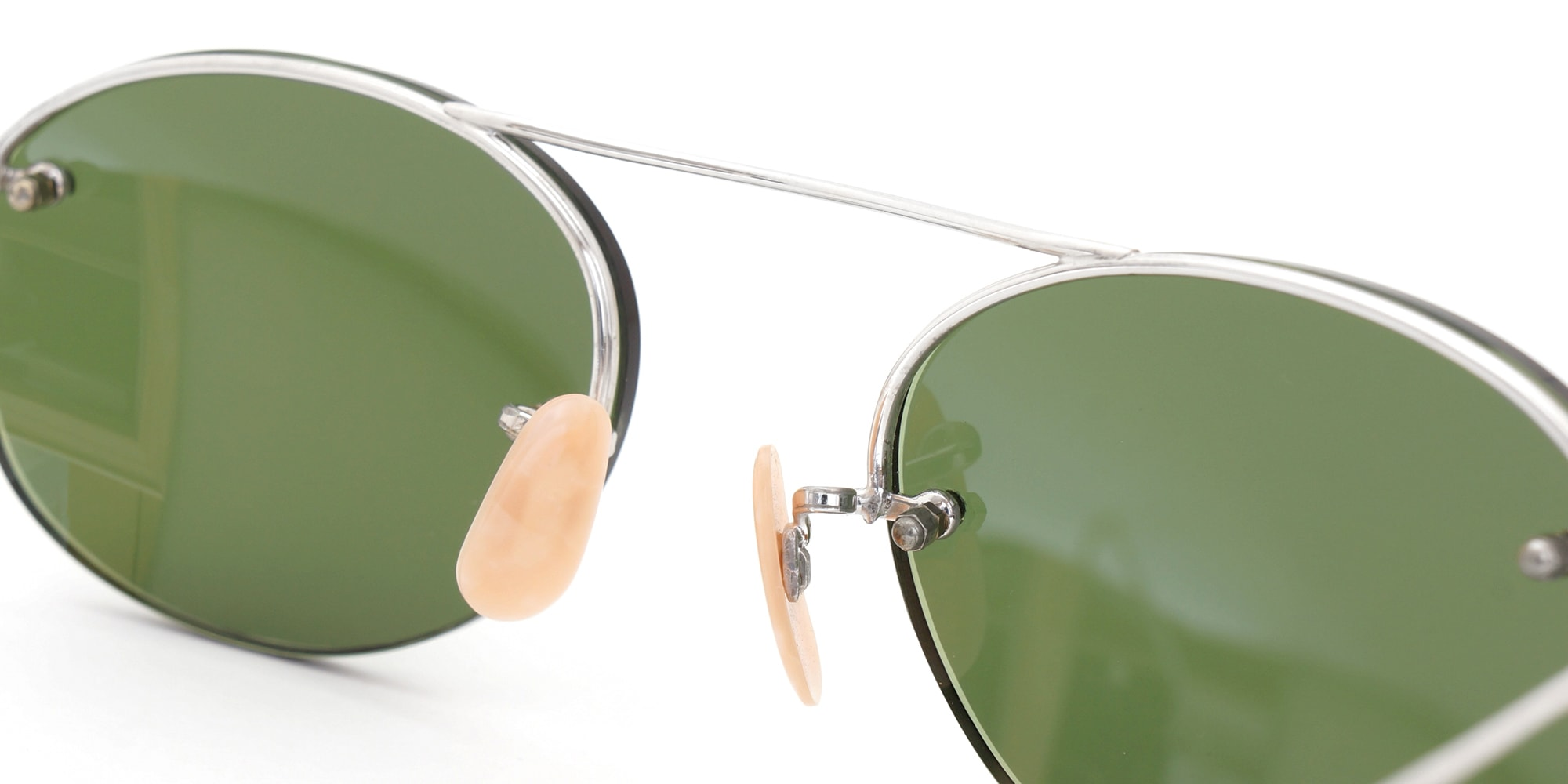 The Spectacle サングラス 1938-1950s SHURON Mid-Century-Modern-Bar 1/10 12KGF 44/20 イメージ8
