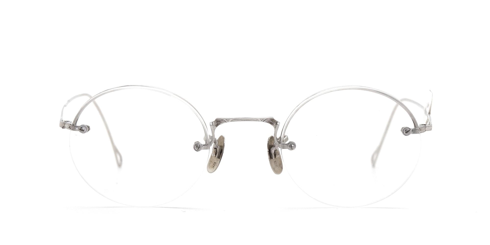 The Spectacle メガネ 1942年 SHURON Rimway Ful-Vue 1/10 12KGF 42-Long イメージ3