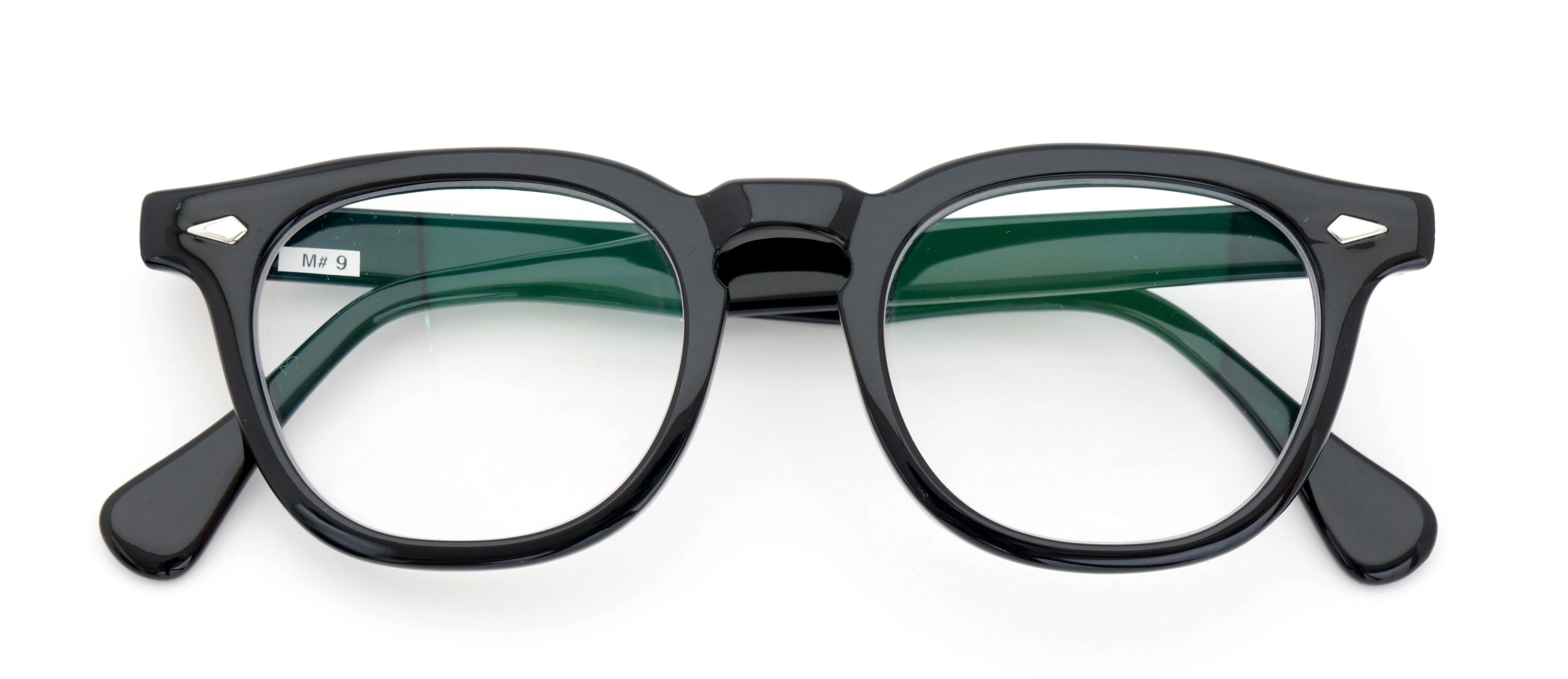 The Spectacle メガネ 1950s-70s TART OPTICAL ARNEL(FRAME USA) BLACK 48-22 イメージ2