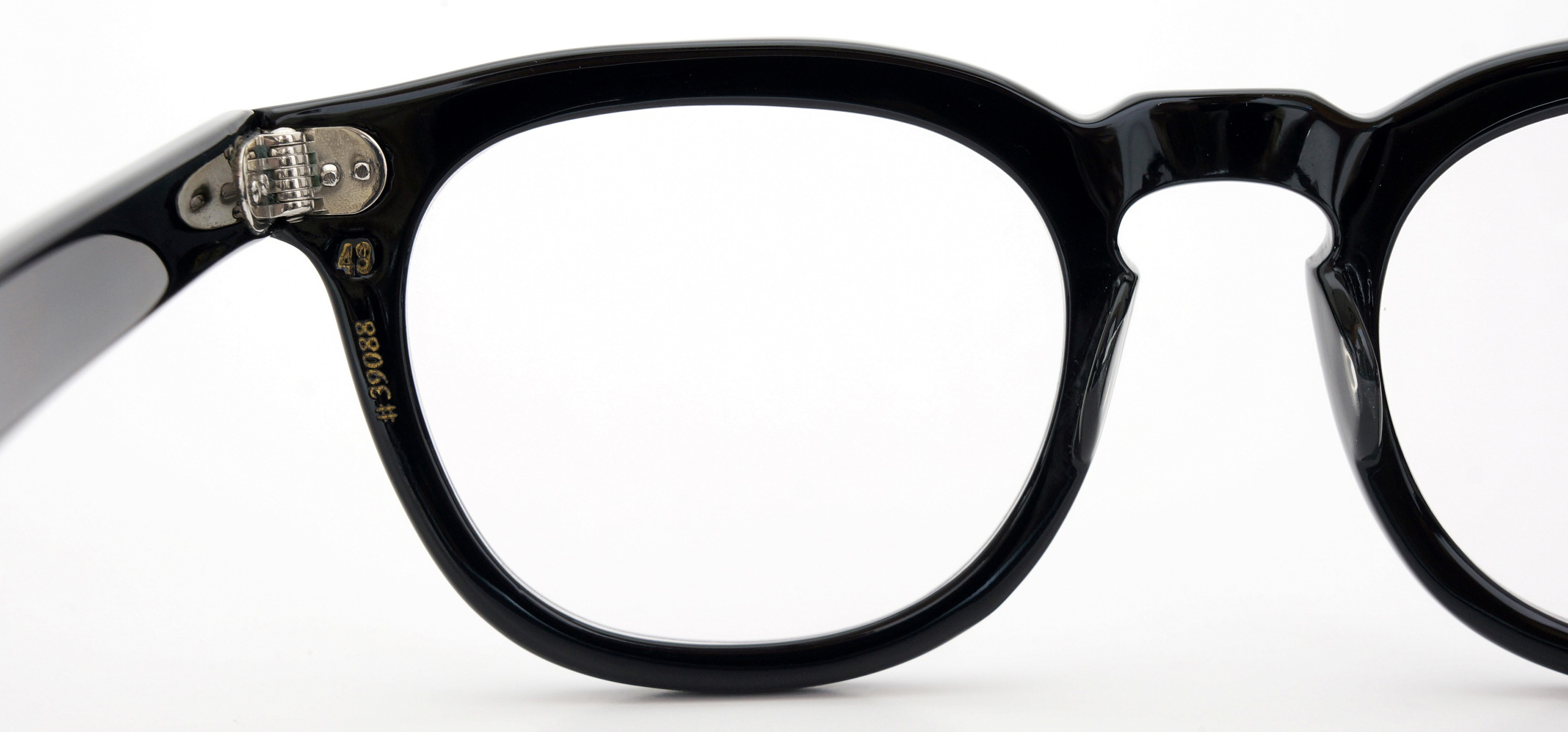 The Spectacle メガネ 1950s-70s TART OPTICAL ARNEL(FRAME USA) BLACK 48-22 イメージ12