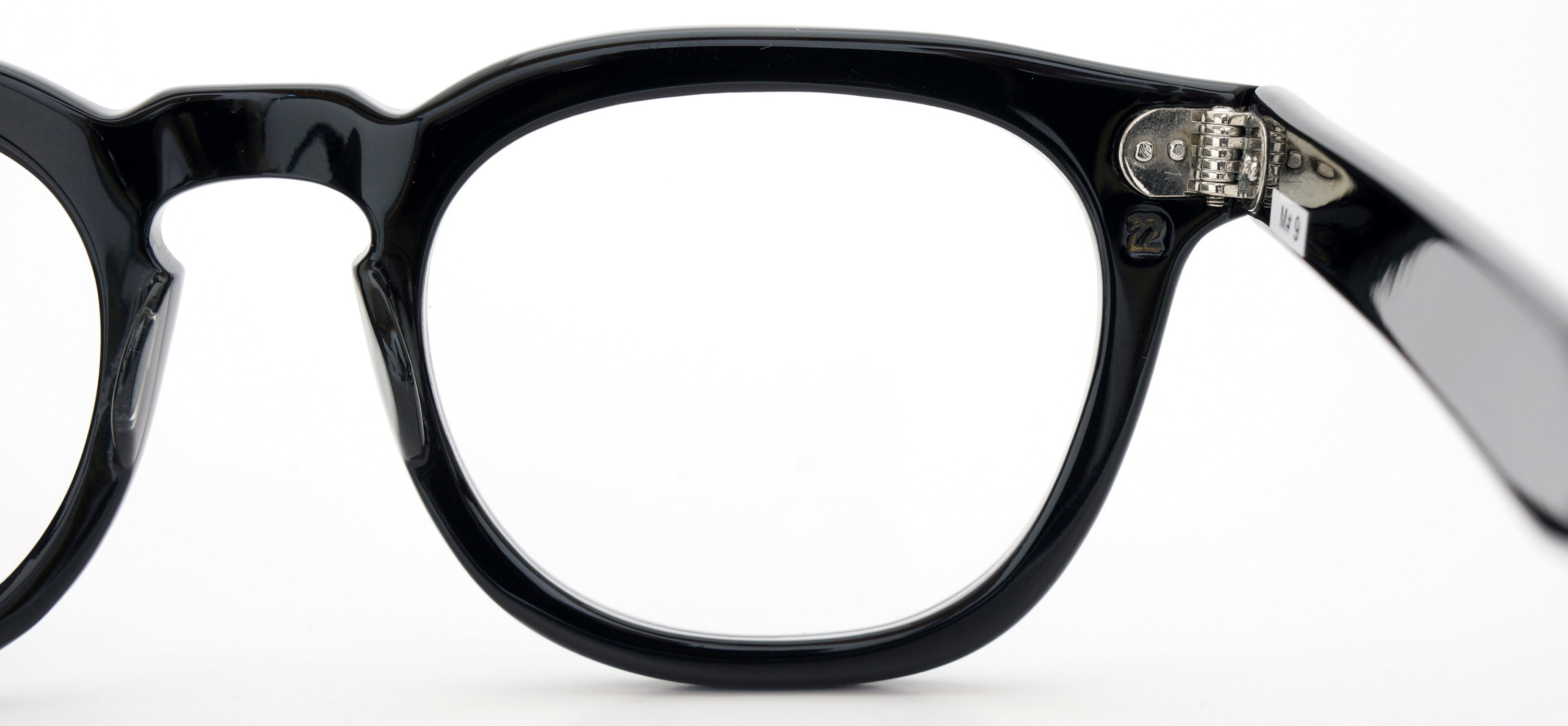 The Spectacle メガネ 1950s-70s TART OPTICAL ARNEL(FRAME USA) BLACK 48-22 イメージ13