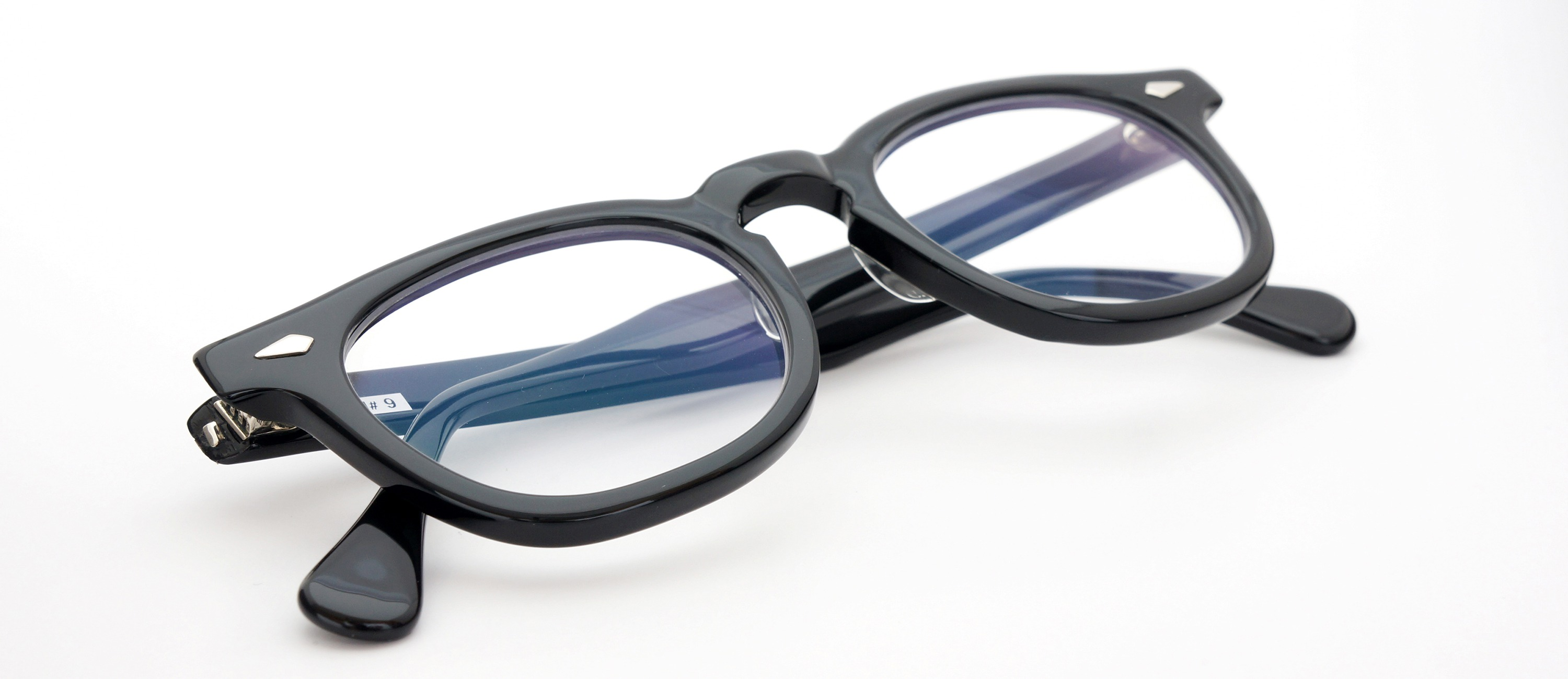 The Spectacle メガネ 1950s-70s TART OPTICAL ARNEL(FRAME USA) BLACK 48-22 イメージ15